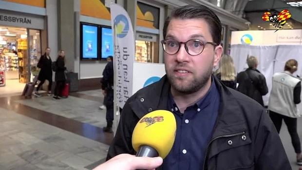 """Jimmie Åkesson: """"Tonläget har varit ganska uppskruvat"""""""