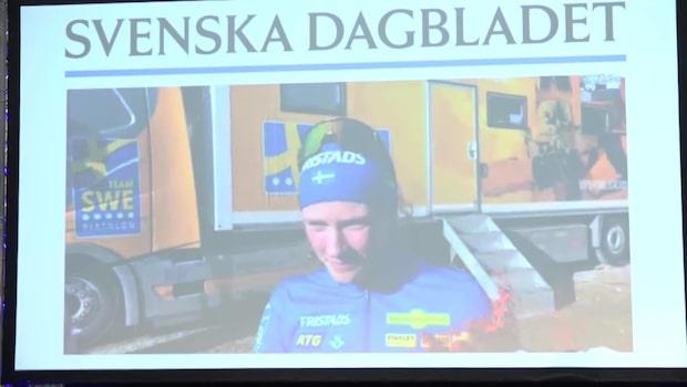 Hanna Öberg: ''Man kan inte få ett finare pris''