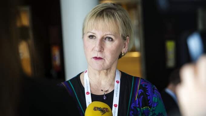 Maargot Wallström. Foto: HENRIK JANSSON
