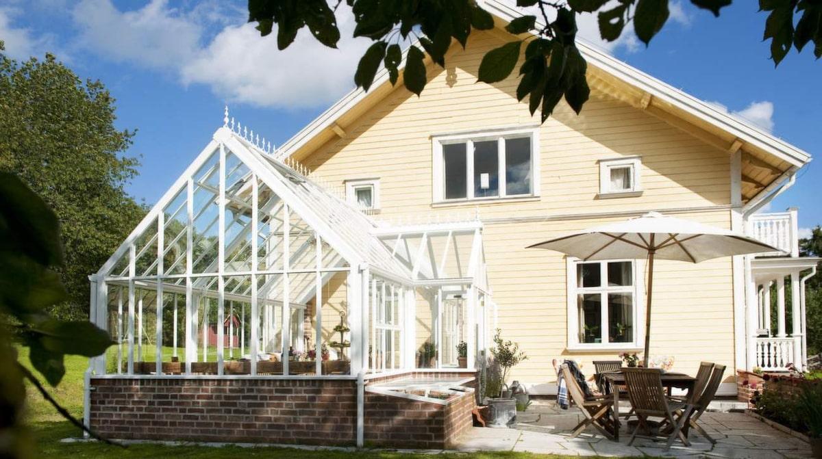 Växthus som uterum – extra yta till fina huset   Leva & bo ...