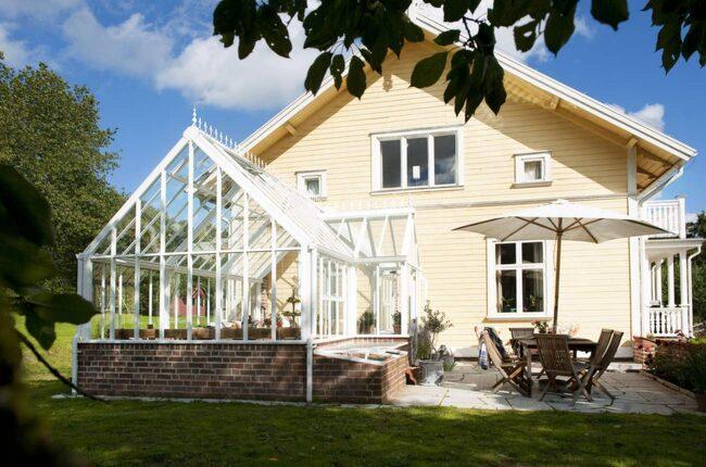 Växthus som uterum u2013 extra yta till fina huset Leva& bo Expressen Leva& bo