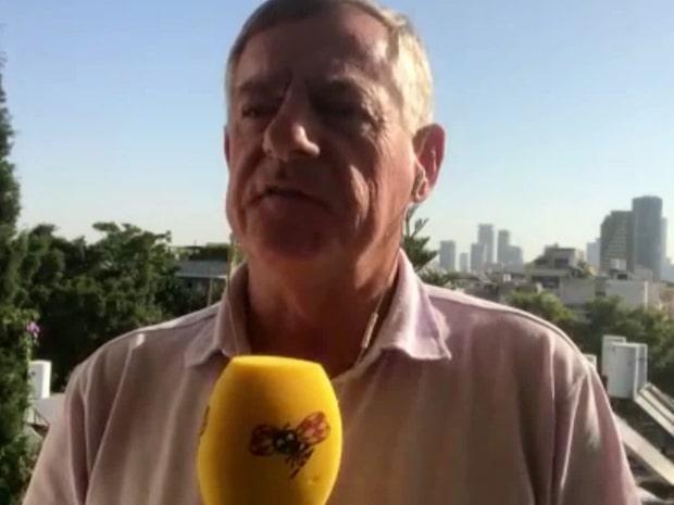 Arne Lapidus om raketattacken i Gaza