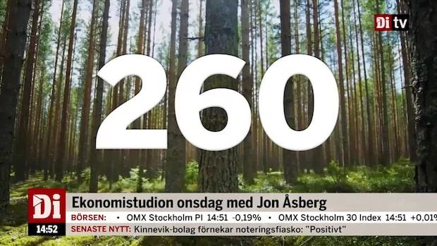 Dagens siffra: SCA köper skog i Lettland