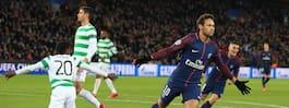 Lustig skadad när  PSG mosade Celtic