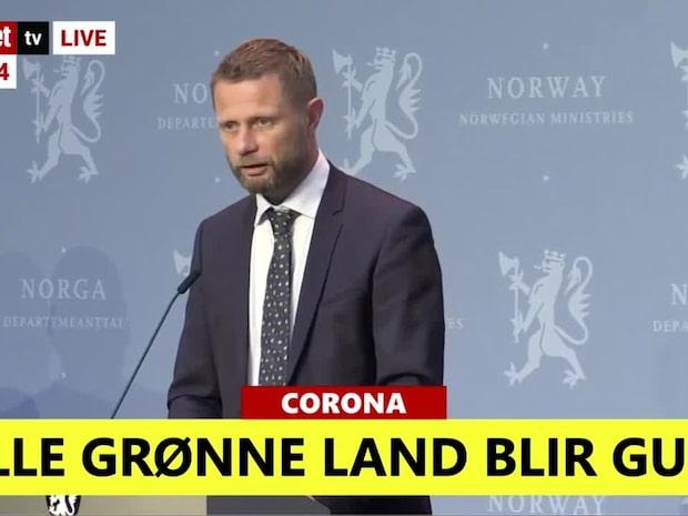 Norge rödlistar flera svenska regioner