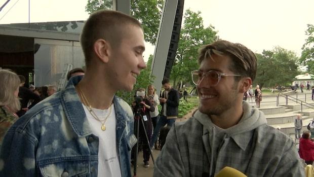 Benjamin Ingrosso och Felix Sandman om vänskapen
