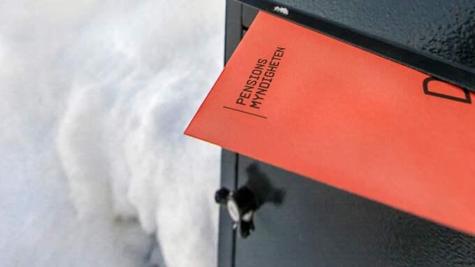 Trodde inte sina ögon när hon såg beskedet. Foto: Magnus Glans / PENSIONSMYNDIGHETEN / PRESSBILDER