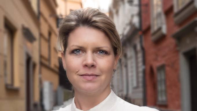 Sofia Jarl, förbundsordförande Centerkvinnorna Foto: Pressbild