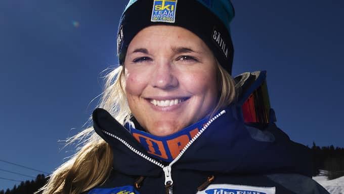 Anna Holmlund. Foto: JOEL MARKLUND / BILDBYRÅN