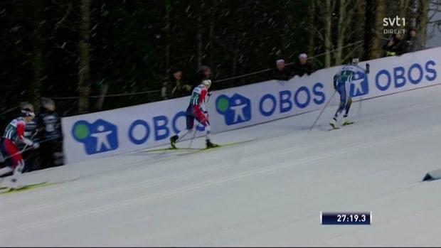 Andersson fyra igen - slagen på upploppet