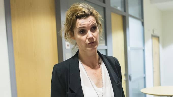 Åkagaren Stina Lundqvist säger att polisen har problem med att få folk att prata. Foto: ANDERS YLANDER