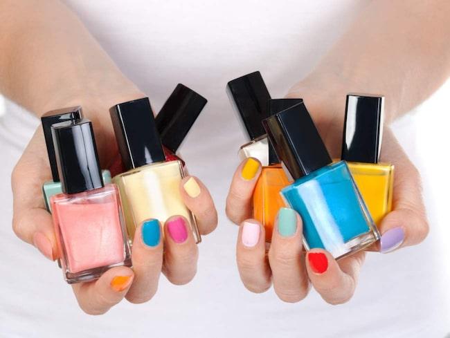 Nagellack är inte bara fint att ha på naglarna.