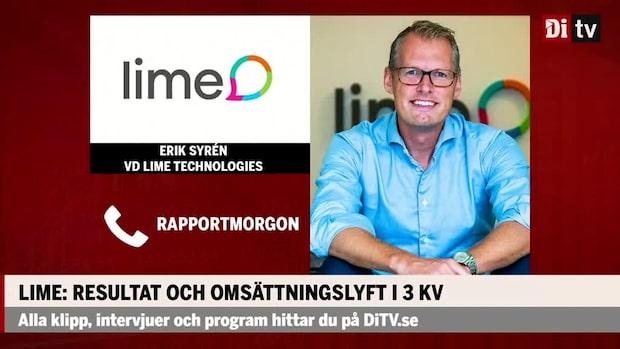 Lime Technologies vd: Ser krisen som en möjlighet – har gjort flera investeringar