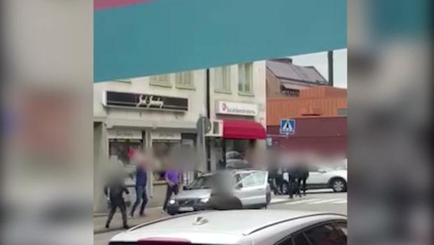 Rånade butik - attackeras av folkmassa