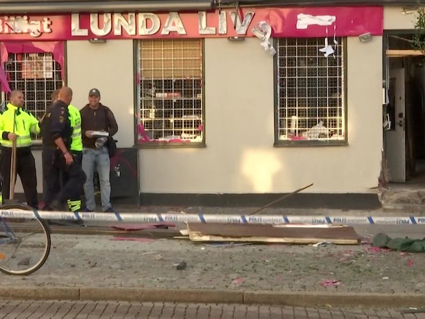 Kraftig explosion i Lund – kvinna skadad