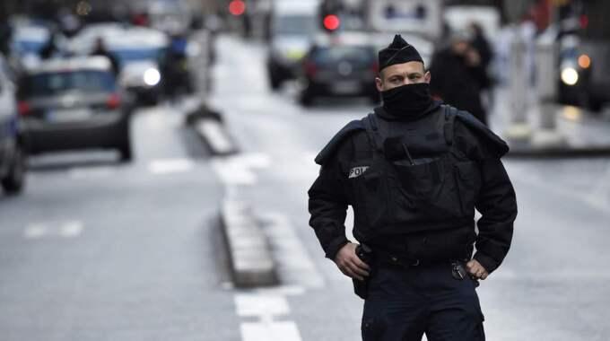 Mannen attackerade en polisstation den 7 januari Foto: Lionel Bonaventure