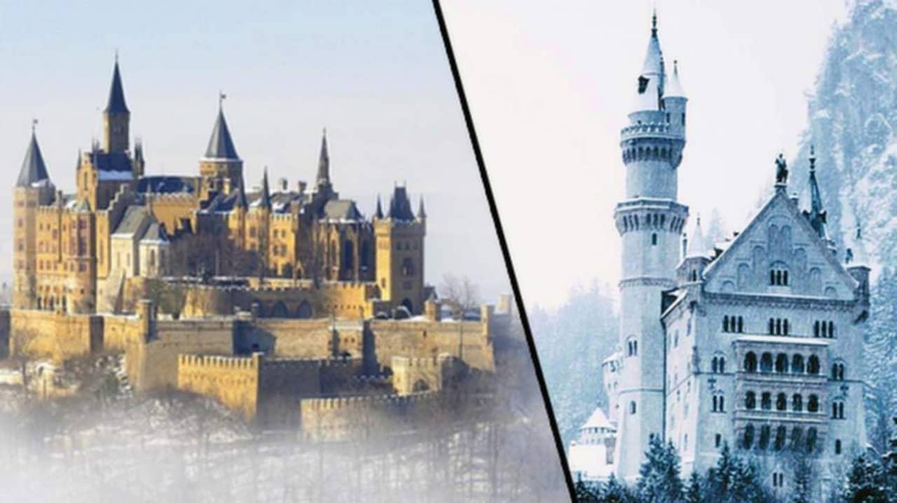 slott – här är världens vackraste vinterslott   allt om resor