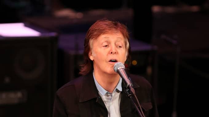 Paul McCartney. Foto: RICHARD WAINWRIGHT / EPA / TT / EPA TT NYHETSBYRÅN
