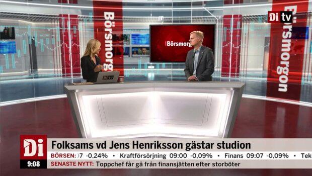 Folksams vd Jens Henriksson – se hela intervjun