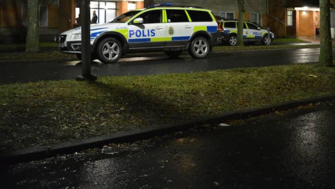 Polisen misstänker att en person har mördats i södra Jönköping. Foto: Läsarbild