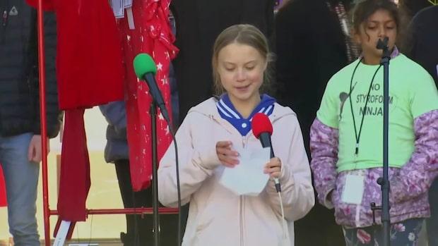 Se hela Greta Thunbergs tal i Denver