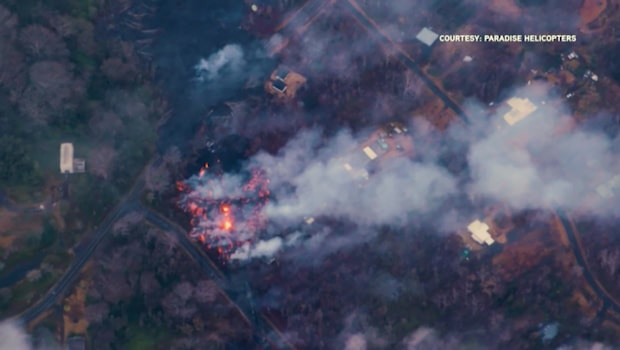 Nu varnar myndigheterna för de farliga gaserna som bildas efter vulkanutbrotten