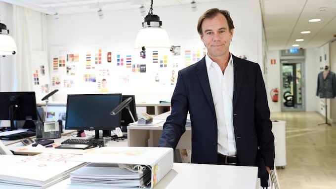 H&M:s vd Karl-Johan Persson har det tufft och under onsdagen kommer eldprovet på bolagets kapitalmarknadsdag för investerare och analytiker. Foto: HENRIK MONTGOMERY/TT / TT NYHETSBYRÅN