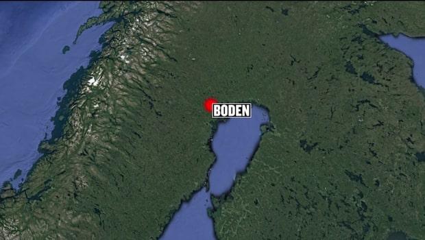 Brand utbröt på sågverk i Boden