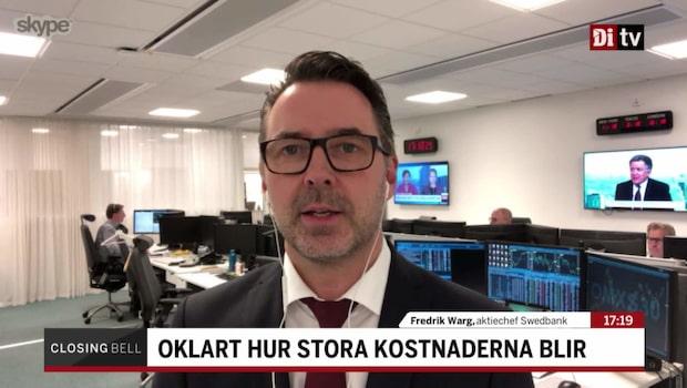 """Aktiechefen om Volvo: """"Rimlig reaktion på kort sikt"""""""
