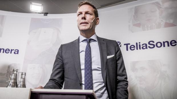 Svenska fonder dumpar sitt ägande i Telia Sonera