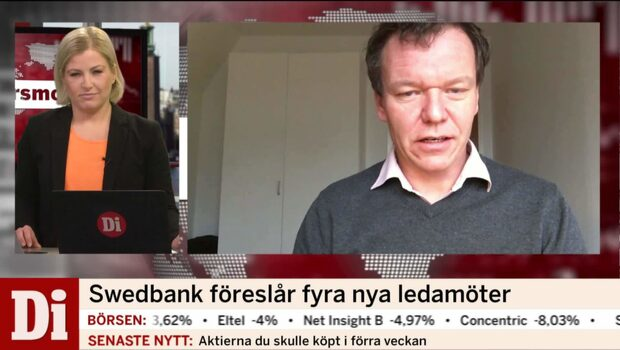 Swedbank föreslår fyra nya ledamöter