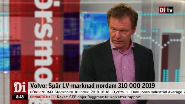 """Petersson om Volvo: """"Klart bättre än väntat"""""""