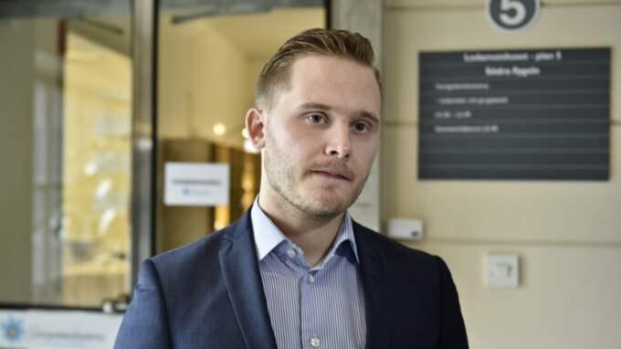 """""""Den här personen har gjort en del uttalanden som är helt och hållet oförenliga med SD:s hållning i vissa frågor"""", säger Henrik Vinge, SD:s presschef. Foto: Mikael Sjöberg"""