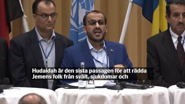 Fredssamtalen om Jemen avslutades idag