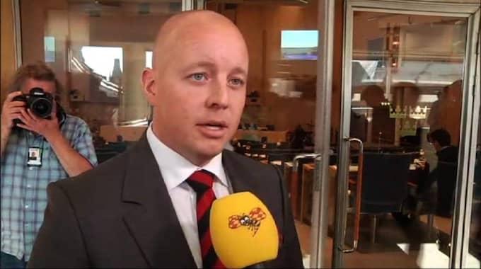 Sverigedemokraternas Björn Söder, nu även andre vice talman i riksdagen.