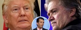 Trumps ordkrig – mot sin förre chefsstrateg