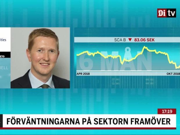 """Skogsanalytikern efter SCA:s rapport: """"Finns köplägen"""""""