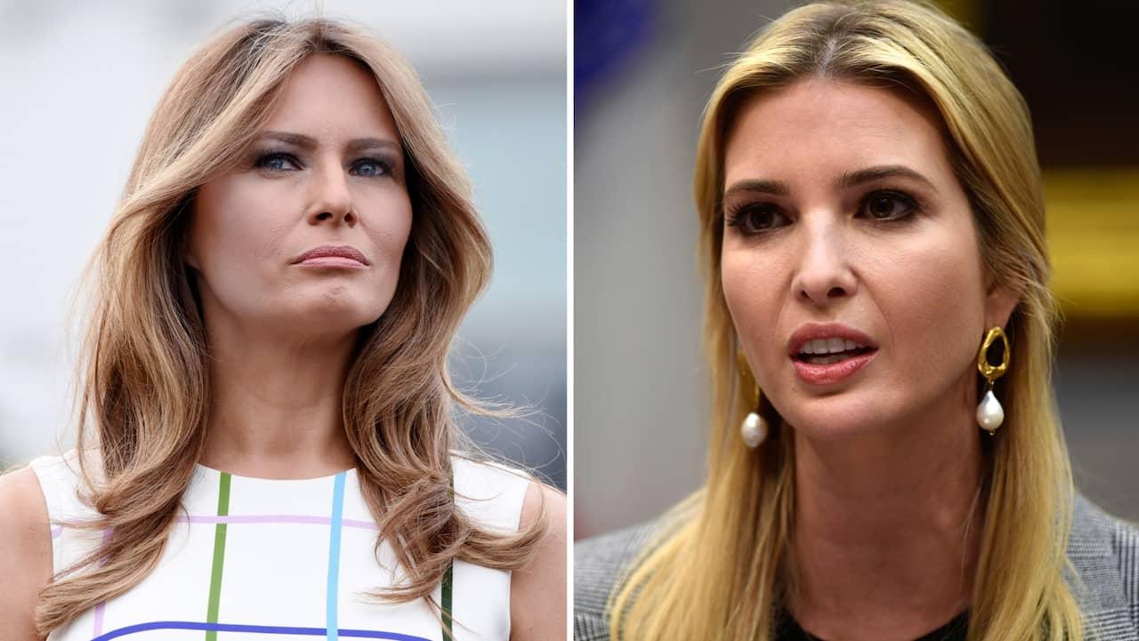bc8d7989536f Verkliga relationen mellan Melania och Ivanka Trump