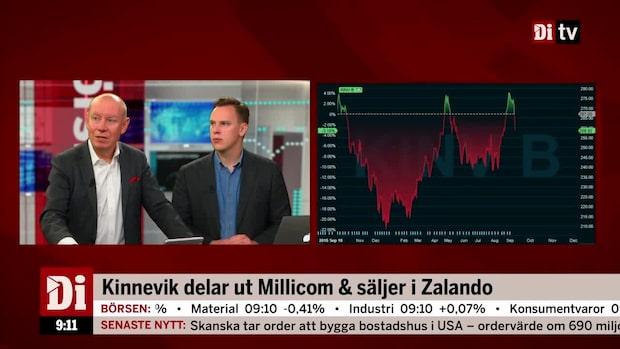 """Kinnevik i hetluften: """"En tydlig strategiomsvängning"""""""