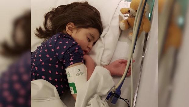 Insamling ska rädda 6-åriga Alicia