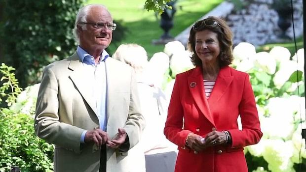 Drottning Silvias fråga om barnbarnen
