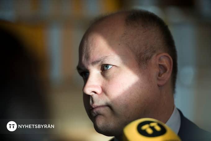 Morgan Johansson Foto: HENRIK MONTGOMERY/TT / TT NYHETSBYRÅN
