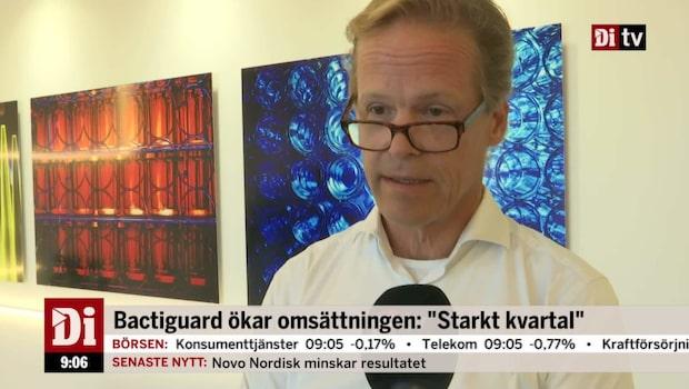 """Bactiguards vd: """"Ett bra momentum i vår portfölj"""""""