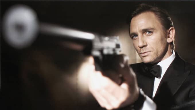 Daniel Craig i rollen som 007. Foto: Greg Williams / GETTY IMAGES / ALL OVER PRESS / GETTY IMAGES GETTY