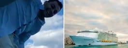 Nick, 27, portad – efter våghalsig idé på kryssning