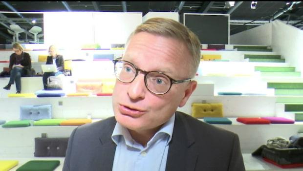 """Ericssons vd Jan Frykhammar: """"Givetvis tufft"""""""