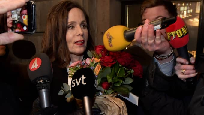 Svenska Akademiens ständiga sekreterare Sara Danius. Foto: JONAS EKSTRÖMER/TT / TT NYHETSBYRÅN