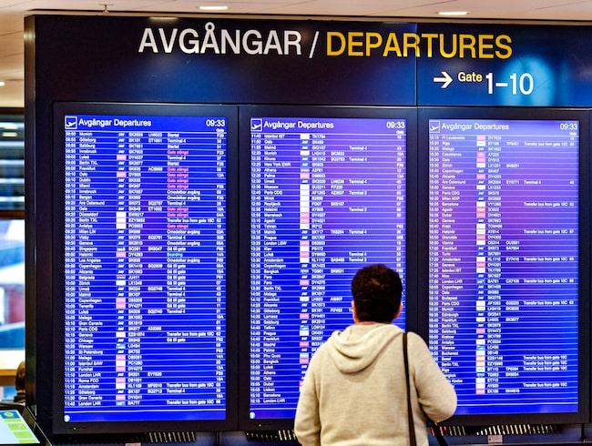 Företaget Airhelp har undersökt totalt 75 flygbolag.