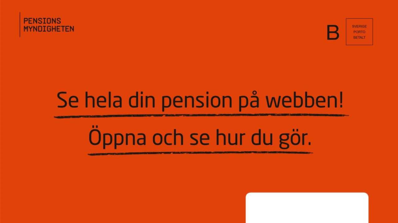 pensions myndigheten se din pension