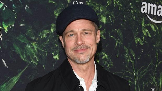 Brad Pitt skrämmande smal efter skilsmässan